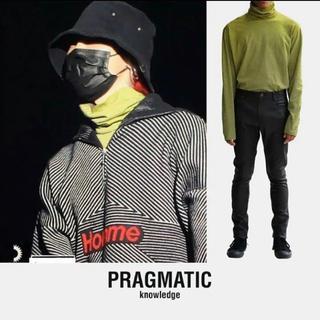 ピースマイナスワン(PEACEMINUSONE)のpragmaticタートルネック(Tシャツ/カットソー(七分/長袖))