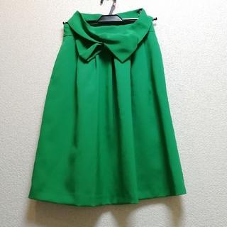 テチチ(Techichi)のhiro様専用 リボン付き フレアスカート(ひざ丈スカート)