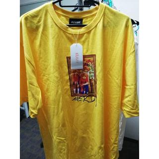 Nerdy Bear Famil Tee Yellow L(Tシャツ/カットソー(半袖/袖なし))