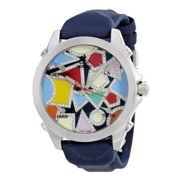 レプリカ 時計 ロレックス激安 | ジェイコブFive Time Zone Multi-Color Dialの通販