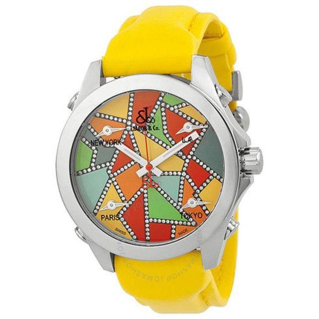 ディーゼル 時計 偽物販売 、 ジェイコブ Five Time Zone Watchの通販