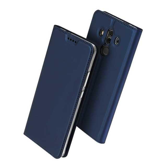 【D42】Huawei Mate 10 Pro(ネイビー)ケースの通販 by らくショップ's shop|ラクマ