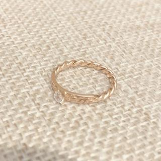 ピンキーリング ハワイアンジュエリー(リング(指輪))