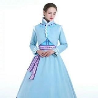 アナトユキノジョオウ(アナと雪の女王)のアナ雪 コスプレ(衣装一式)