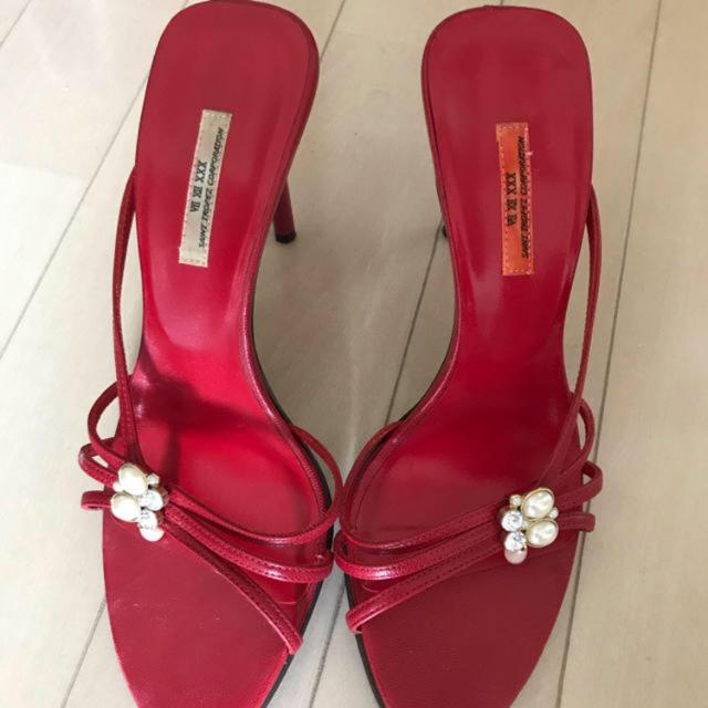 VII XII XXX(セヴントゥエルヴサーティ)のセブントゥエルブサーティ  サンダル キャバ嬢ワンピース ドレス レディースの靴/シューズ(サンダル)の商品写真