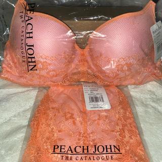 ピーチジョン(PEACH JOHN)のワークブラレーシィ&ショーツ(ブラ&ショーツセット)