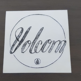 ボルコム(volcom)の「縦横5.9cm」VOLCOM ステッカー(その他)