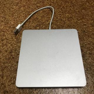 マック(MAC)のMacBook Air super drive 中古品(PC周辺機器)
