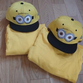 ミニオン(ミニオン)のミニオンセット帽子キャップトレーナーコスプレ(衣装一式)