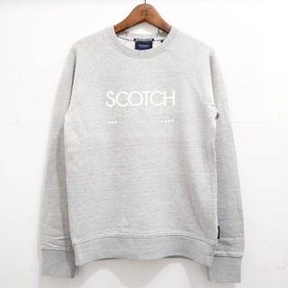 スコッチアンドソーダ(SCOTCH & SODA)のSCOTCH & SODA  スコッチ&ソーダ  ロゴトレーナー(スウェット)