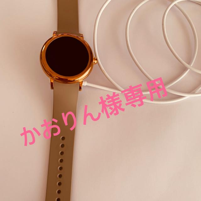 ブレゲの 時計 | MARC JACOBS - かおりん様専用 スマートウォッチ ♡マークジェイコブス♡の通販