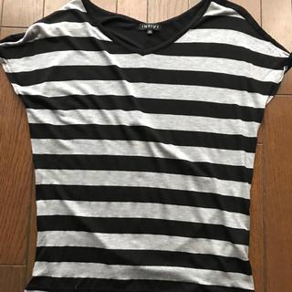 インディヴィ(INDIVI)のINDIVIのボーダーT  (Tシャツ(半袖/袖なし))