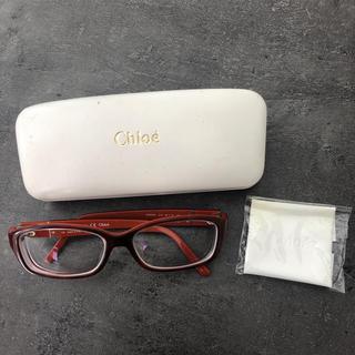クロエ(Chloe)のクロエ chloe 眼鏡 サングラス 度入り(サングラス/メガネ)