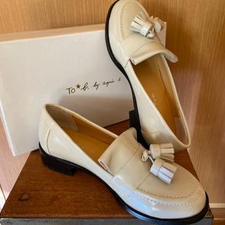 アニエスベー(agnes b.)のTo b. by agnès b.の靴(ローファー/革靴)