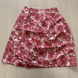 シップスフォーウィメン(SHIPS for women)のSHIPS for women フラワープリントフレアスカート(ひざ丈スカート)