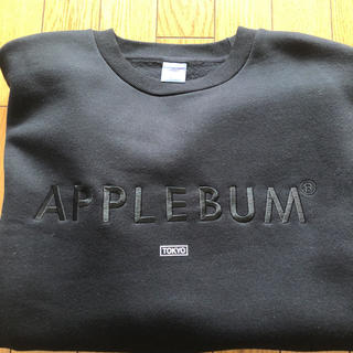 APPLEBUM - APPLEBUM OVER SIZE CREW SWEAT