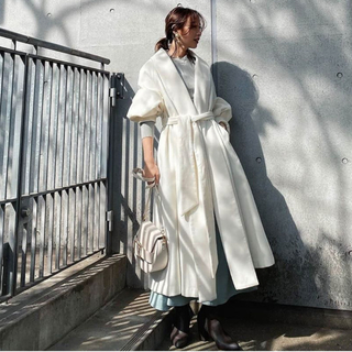 rienda - 定価¥16478♡レアriendaリエンダ♡ショールカラーガウンコート