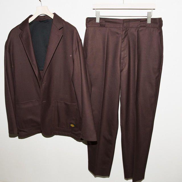 Dickies(ディッキーズ)のDickies ディッキーズ TRIPSTER セットアップ ブラウン 茶 メンズのジャケット/アウター(テーラードジャケット)の商品写真