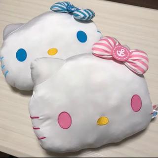 ハローキティ(ハローキティ)のキティ メガジャンボクールテイストクッション ×2個セット(クッション)