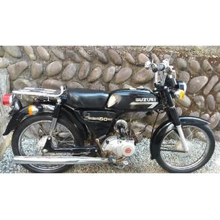 スズキ - 仙台市 スズキ K50 黒 実働 原付 バイク 現車確認可 配達可