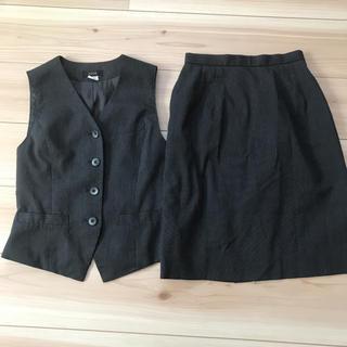 ♡週末限定セール♡FOLK  7号 事務服 制服  上下セット(スーツ)