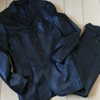 ジャンポールゴルチエ(Jean-Paul GAULTIER)のジャンポールゴルチエオム スーツ レザースーツ(セットアップ)