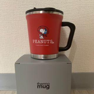 ピーナッツ(PEANUTS)のPEANUTS Cafe × thermo mug コラボタンブラー 赤(タンブラー)