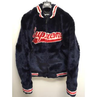 シュプリーム(Supreme)のSupreme Faux Fur Varsity Jacket M シュプリーム(ブルゾン)