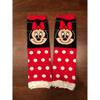ディズニー(Disney)の新品 ベビー レッグウォーマー ミニーマウス(レッグウォーマー)