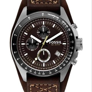 フォッシル(FOSSIL)のFOSSIL DECKER フォッシル ファッショングッズ 腕時計 ブラウン(腕時計(アナログ))