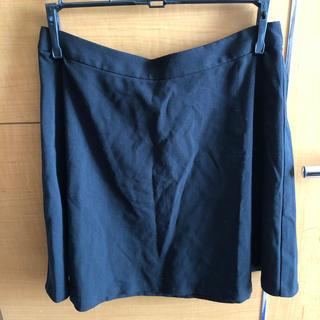 フォーエバートゥエンティーワン(FOREVER 21)の黒 ミニスカート(ミニスカート)