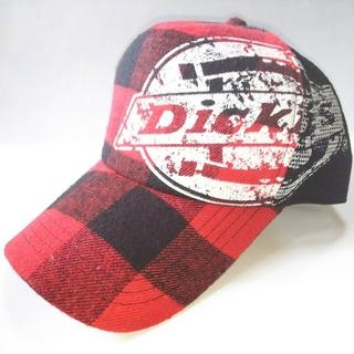 Dickies - Dickies★★★赤いチェック柄キャップ