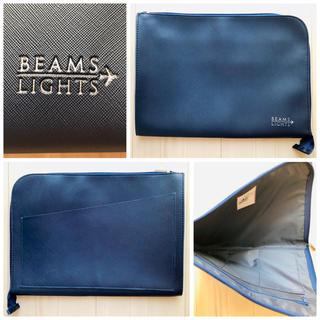 ビームス(BEAMS)の新品 BEAMS ビームス ネイビー 紺 クラッチバッグ バックインバックにも(その他)