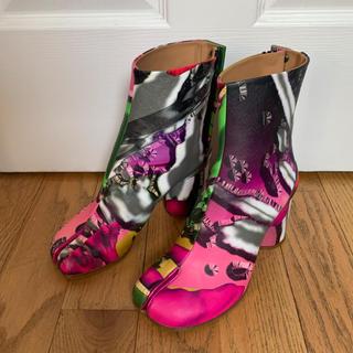 マルタンマルジェラ(Maison Martin Margiela)の新品レア Maison Margiela マルジェラ 足袋ブーツ 37.5 (ブーツ)