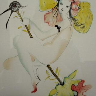真作保証 レオノール・フィニ 1959年 限定 直筆サイン ダリ ミロ ピカソ(版画)