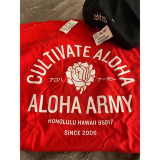 インフォメーション(IN4MATION)のalohaarmy キャップとTシャツLサイズの higraidセット(Tシャツ/カットソー(半袖/袖なし))