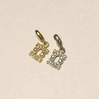 カルティエ(Cartier)のカルティエ ダイヤペンダント YGWGセット(ネックレス)