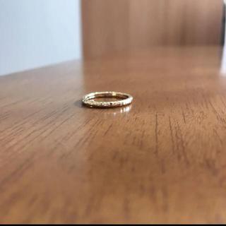 ココシュニック(COCOSHNIK)の【美品】ココシュニック☆K10☆リング(リング(指輪))