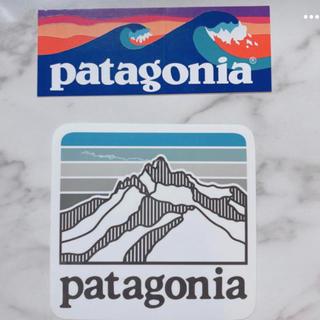 パタゴニア(patagonia)のshowさま専用 パタゴニア ステッカー PATAGONIA シール 2枚(ステッカー)