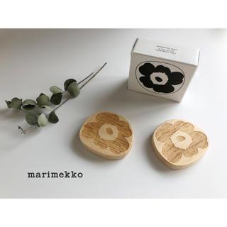 マリメッコ(marimekko)のMarimekko マリメッコ ウニッコ 箸置き 2個セット unikko (カトラリー/箸)