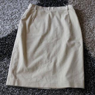 マックスマーラ(Max Mara)のMM weekend オフホワイトタイトスカート(ミニスカート)