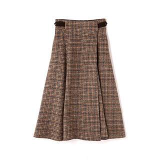 アドーア(ADORE)のH/Standard アッシュスタンダード チェックフレアスカート(ロングスカート)