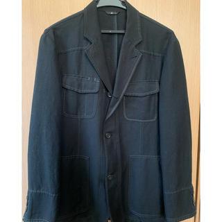 ランバン(LANVIN)のlanvin ランバン テーラードジャケット ブラック 上質 シンプル(テーラードジャケット)