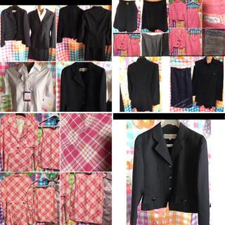 クリスチャンディオール(Christian Dior)のクリスチャンディオール ネイビー ブラック 高級 スーツ ジャケット 8着セット(スーツ)