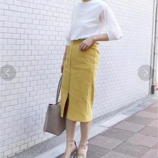 ノーブル(Noble)のNoble フープジップダブルスカート(ロングスカート)