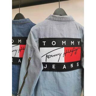 トミー(TOMMY)の[2枚14000円送料込み]TOMMY デニムジャケット Lサイズ(Gジャン/デニムジャケット)