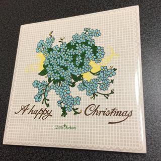 フェリシモ(FELISSIMO)の新品 アートタイル コースター 輸入 12 A happy Christmas(その他)