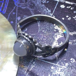 天然石リングSILVER925 シルバー925 10号指輪ムーンストーンギフト(リング(指輪))