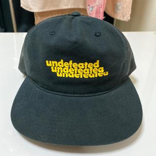 アンディフィーテッド(UNDEFEATED)のUNDEFEATED 黒メッシュキャップ(キャップ)