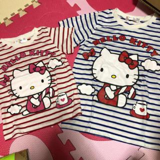 ハローキティ(ハローキティ)のキティ☆ペアルックTシャツ(Tシャツ/カットソー)
